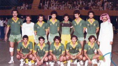 صورة فريق كرة اليد بنادي الخليج بسيهات