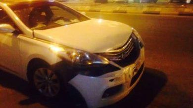 صورة سيهات : حادث عند مستشفى الصادق وإصابة واحدة (بالصور)