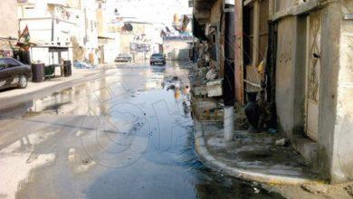 صورة طفح المجاري يحاصر منازل بستان القطيف طوال العام