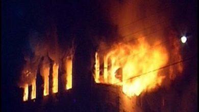 صورة اندلاع حريق في «قبو» مستشفى العيون بالرياض