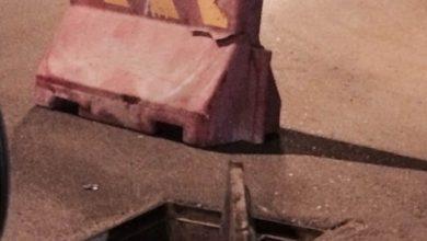 صورة #سيهات : فتحة صرف صحي تثير مخاوف أهالي حي الخليج