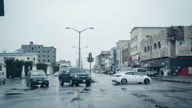 صورة أمطار غزيرة ومتوسطة على الشرقية و ١١ منطقة