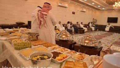 صورة سيهات: أهالي حي الغدير يجتمعون على افطار جماعي (صور)