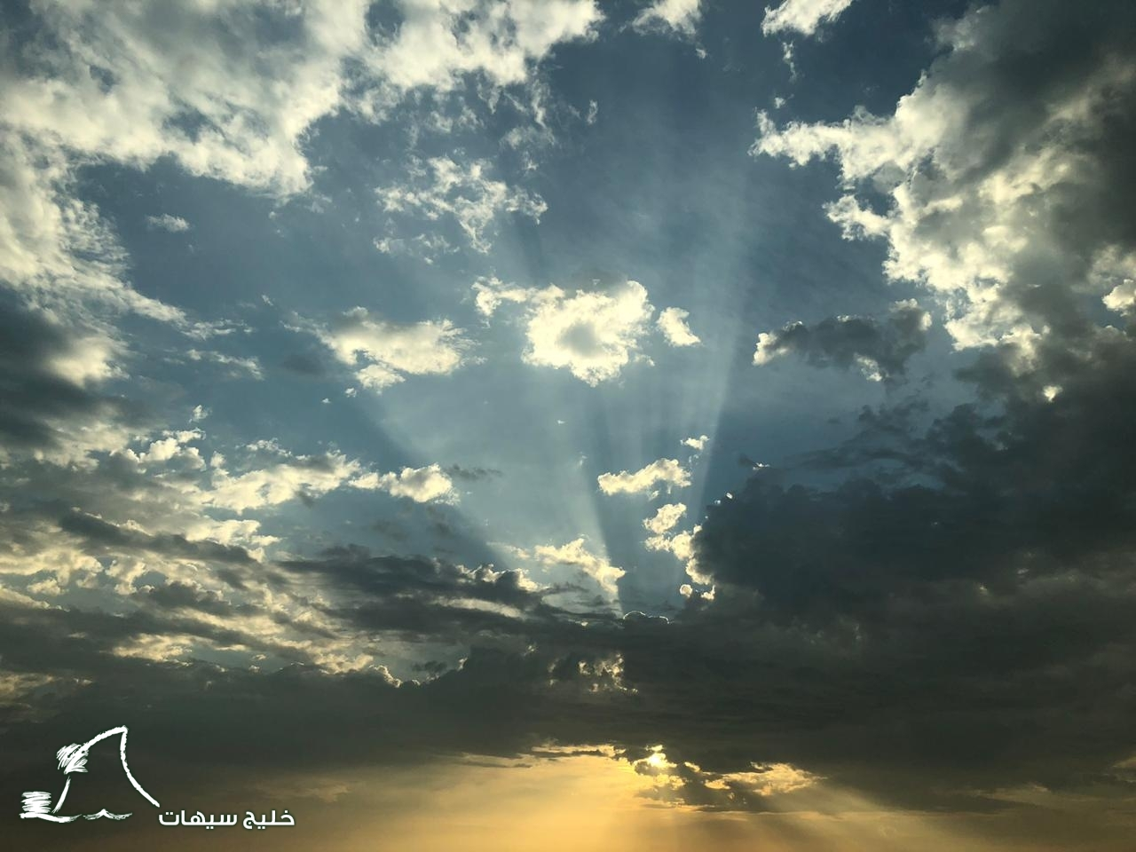 صورة عدسة خليج سيهات ترصد الأجواء الجميلة