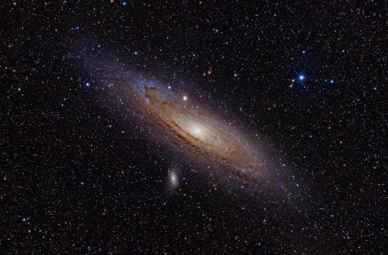صورة الرمضان: ظهور مجرة أندروميدا في آب إشاعة
