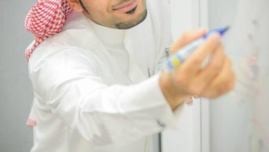 صورة الحمد، قائد مدرسة ومعلم خبير لميكروسوفت للمرة الثالثة