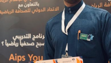 صورة الزميل قاسم آل مسكين يختتم البرنامج التدريبي للاتحاد الدولي ضمن 85 صحفياً