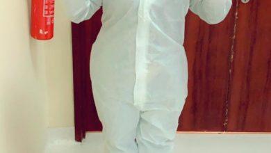 صورة الدكتورة آلاء السيهاتي تتفانى في مواجهة كورونا بالرياض