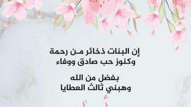 صورة مهدي جاسم طالب يرزق بمولودته أسماء