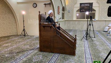 صورة سيهات: نتائج النهضة الحسينية في الأمة.. موضوع الشيخ آل سيف في مسجد المحسن