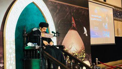 صورة السيد الخباز يُوصي بممارسة العبادة وقراءة القرآن بخشوع وتلذّذ