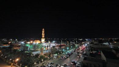 صورة سيهات : بالصور كيف أحيا مسجد الحمزة ليلة العاشر من محرم 1442هـ