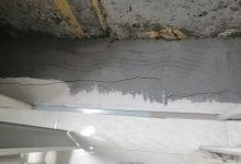 صورة سقف مطبخ منزل الفنان السبع يتعرض للسقوط (صور)