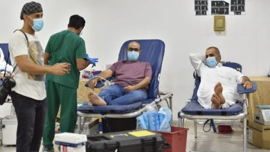 صورة حملة عمار العطاء للتبرع بالدم تنطلق بنادي الصفا