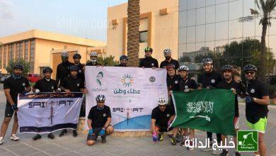 صورة «دراجو سيهات» يقطعون 30 كيلومتراً دعماً للتطوع