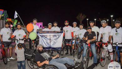 صورة « دراجو سيهات» يقطعون «27» كيلومترًا.. مساء اليوم