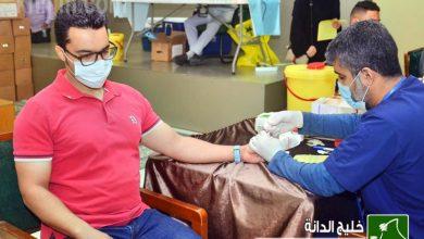 صورة « ومن أحياها 3 » تحصد «61» متبرعًا بالدم.. في يومها الأول