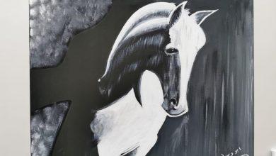 صورة بعد 40 سنة توقف … لوحات «أبو وسام» تخطف الأبصار