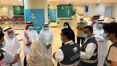 صورة نخبة من اللجان المجتمعية تزور مستشفى الأمير محمد بن فهد