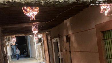 صورة صفوى.. تضيء «الصاباط».. بالفوانيس التراثية