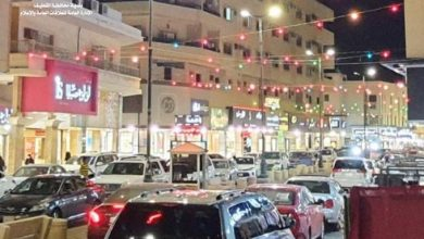 صورة شوارع القطيف.. «تتزين» في أول أيام شهر رمضان