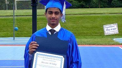 صورة جائزة الرئيس الأمريكي لطالب «تاروتي» متفوق