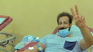صورة «نقطة دم تساوي لهم حياة» تستقطب 71 متبرعاً في يومها الأول